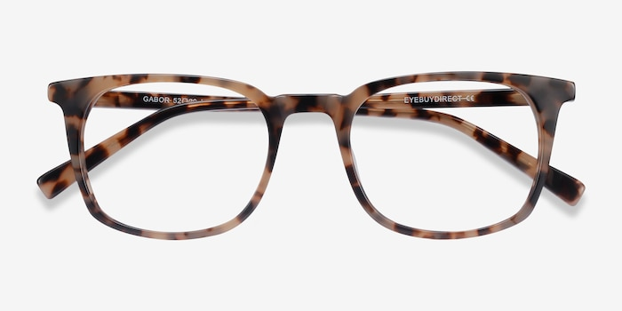 Gabor Tortoise Acetate Eyeglass Frames from EyeBuyDirect, Closed View
