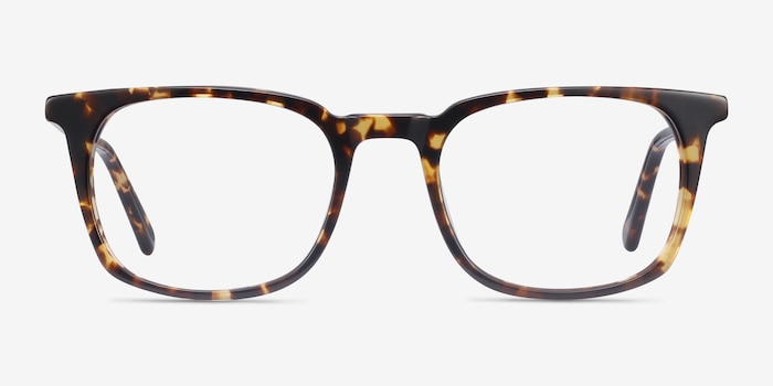Gabor Brown Tortoise Acetate Eyeglass Frames from EyeBuyDirect, Front View