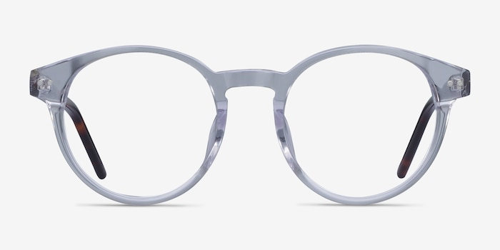 Manara Clear Acetate Eyeglass Frames from EyeBuyDirect, Front View