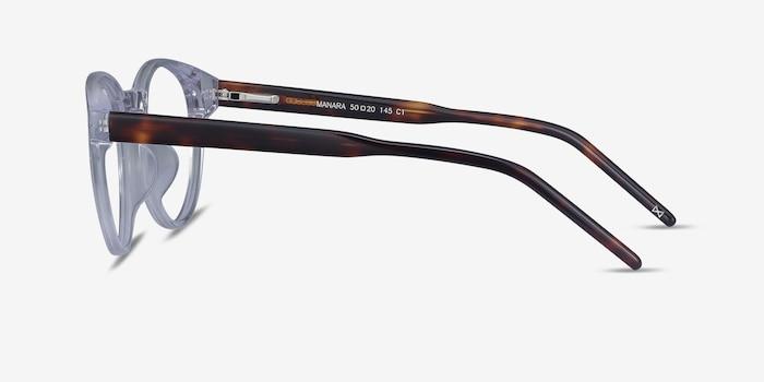Manara Clear Acetate Eyeglass Frames from EyeBuyDirect, Side View