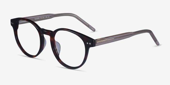 Manara Tortoise Acetate Eyeglass Frames from EyeBuyDirect, Angle View