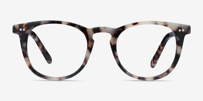 Ona Ivory Tortoise Acetate Eyeglass Frames from EyeBuyDirect, Front View