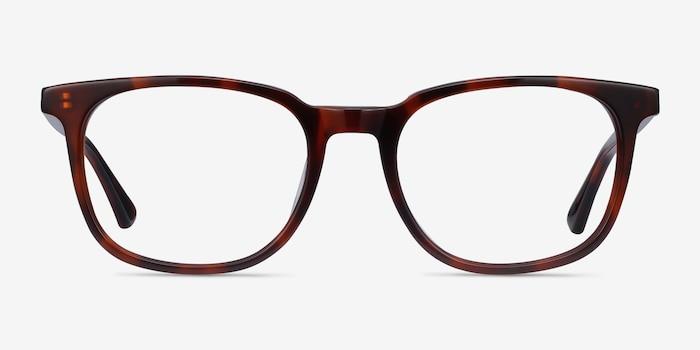 Seasons Brown Tortoise Acétate Montures de Lunettes d'EyeBuyDirect, Vue de Face