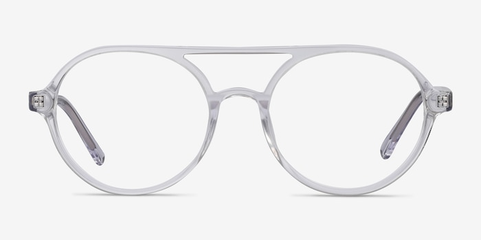 Elevate Clear Acetate Eyeglass Frames from EyeBuyDirect, Front View