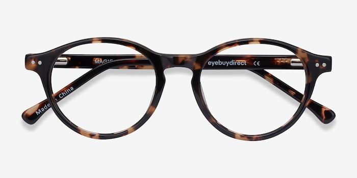 Magic Écailles Acétate Montures de Lunettes d'EyeBuyDirect, Vue Rapprochée