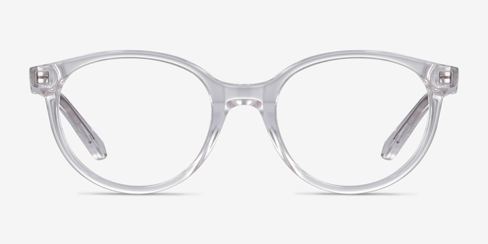 Trust Clear Acetate Eyeglass Frames from EyeBuyDirect, Front View