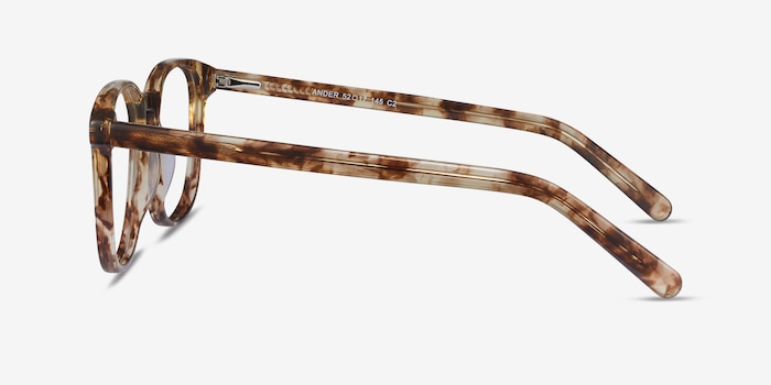 Ander Tortoise Acetate Eyeglass Frames from EyeBuyDirect, Side View