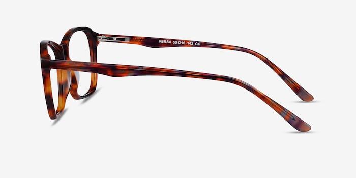 Versa Tortoise Acetate Eyeglass Frames from EyeBuyDirect, Side View