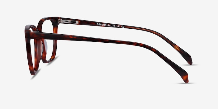 Reverb Tortoise Acetate Eyeglass Frames from EyeBuyDirect, Side View