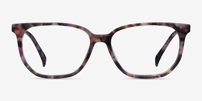 Reverb Floral Acetate Eyeglass Frames from EyeBuyDirect, Front View