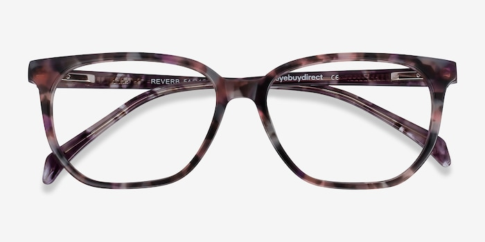 Reverb Floral Acetate Eyeglass Frames from EyeBuyDirect, Closed View