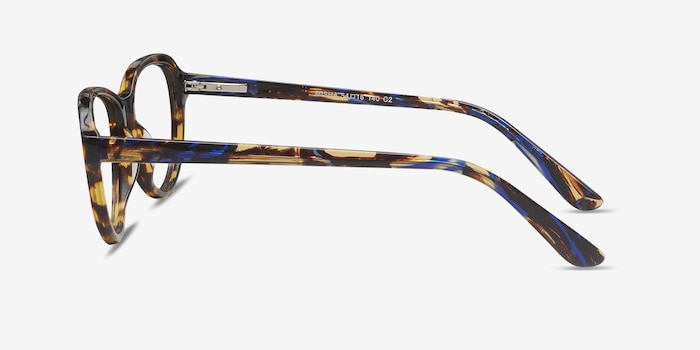 Misha Tortoise Acetate Eyeglass Frames from EyeBuyDirect, Side View