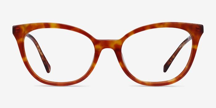 Sigilo Tortoise Acetate Eyeglass Frames from EyeBuyDirect, Front View