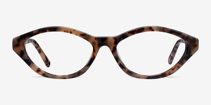 Passion Tortoise Acetate Eyeglass Frames from EyeBuyDirect, Front View