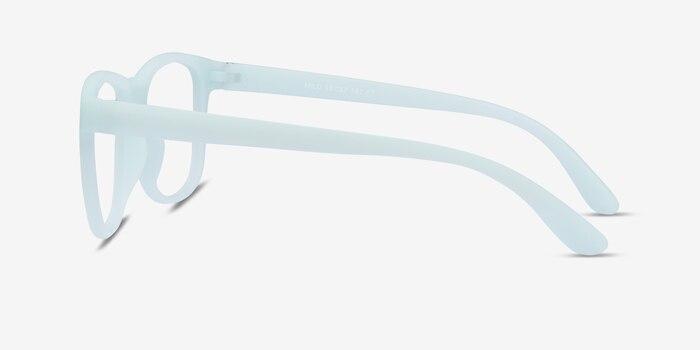 Milo Mint Plastic Eyeglass Frames from EyeBuyDirect, Side View