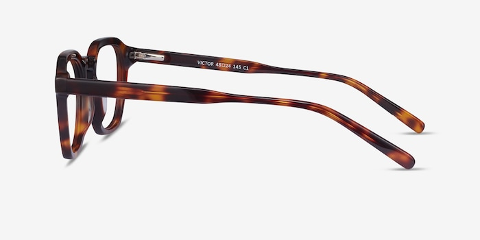 Victor Tortoise Acetate Eyeglass Frames from EyeBuyDirect, Side View