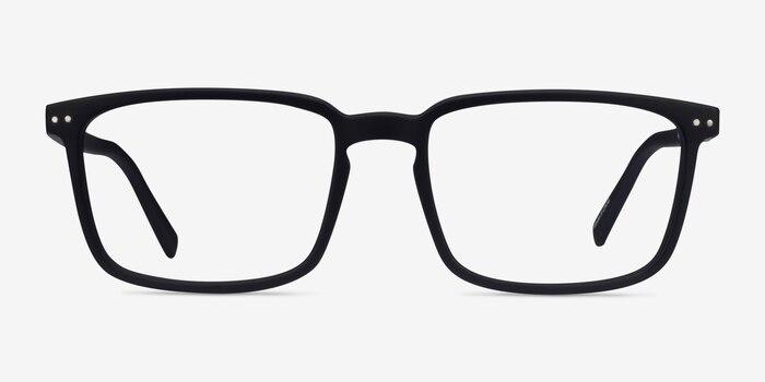 Moringa Basalt Plastic Eyeglass Frames from EyeBuyDirect, Front View