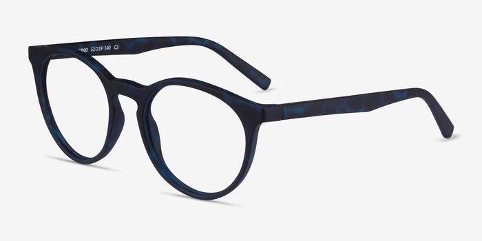 Ginkgo Abyssal Tortoise Plastique Montures de Lunette de vue d'EyeBuyDirect, Vue d'Angle
