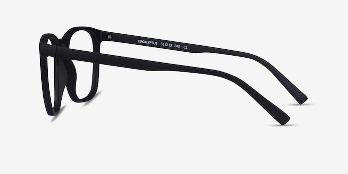 Eucalyptus Basalt Plastic Eyeglass Frames from EyeBuyDirect, Side View