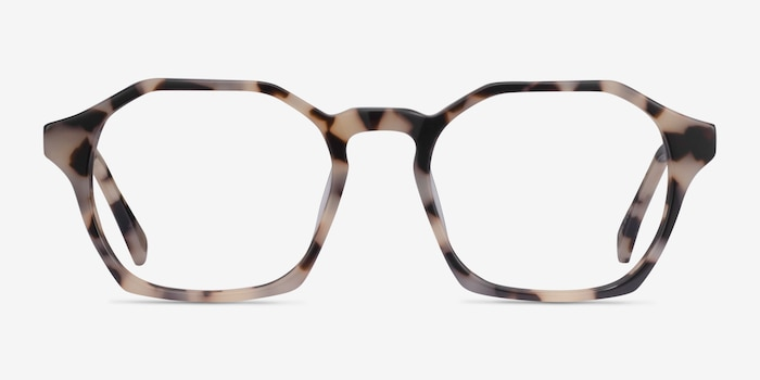 Orchid Ivory Tortoise Acetate Eyeglass Frames from EyeBuyDirect, Front View