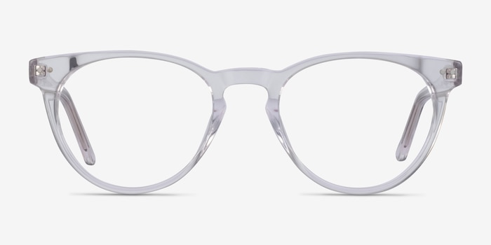 Notting Hill Clear Acetate Eyeglass Frames from EyeBuyDirect, Front View