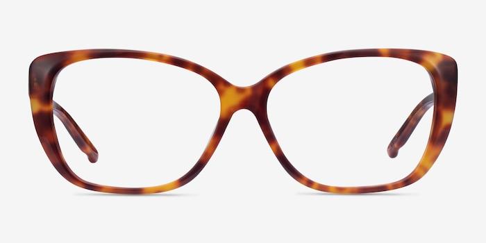 Elegance Tortoise Acetate Eyeglass Frames from EyeBuyDirect, Front View