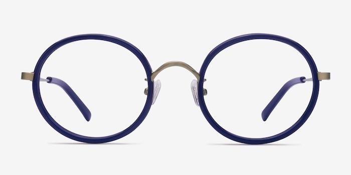 80c80f81b6 Gemini Navy Acetate Eyeglass Frames from EyeBuyDirect