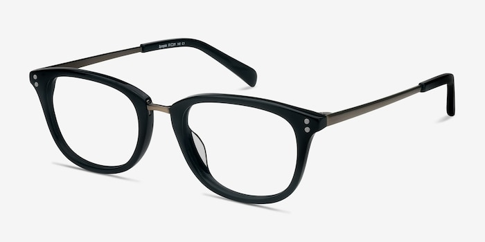 ace97f0c8a Synopsis Black Acetate Eyeglass Frames from EyeBuyDirect