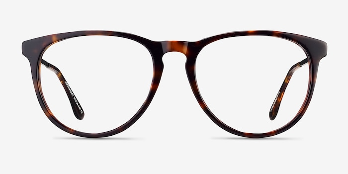 Ultraviolet Tortoise Acetate Eyeglass Frames from EyeBuyDirect, Front View