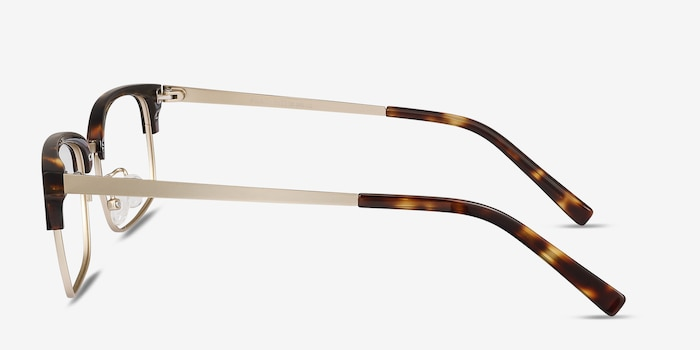 Wizard Tortoise Acetate Eyeglass Frames from EyeBuyDirect, Side View