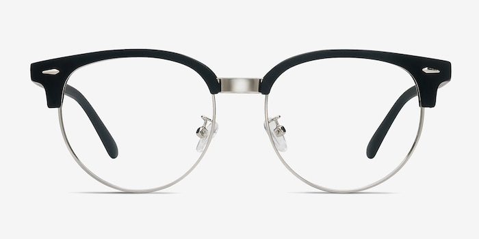 c0d9af78c4394 Narita Matte Black Metal Eyeglass Frames from EyeBuyDirect