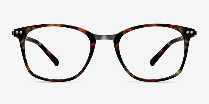 Savannah Floral Metal Eyeglass Frames from EyeBuyDirect, Front View