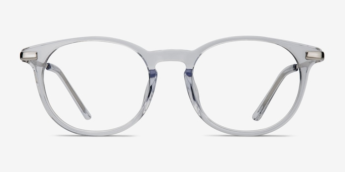 Mood Translucent Acetate Eyeglass Frames from EyeBuyDirect, Front View