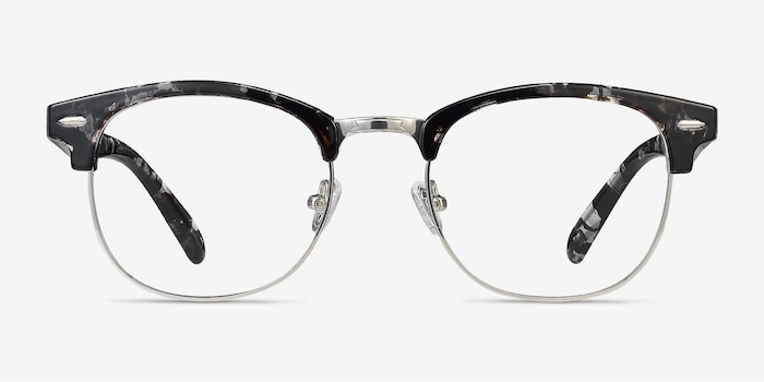 Roots Floral Metal Eyeglass Frames from EyeBuyDirect, Front View