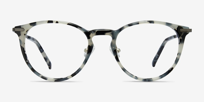 Iris Tortoise Acetate Eyeglass Frames from EyeBuyDirect, Front View
