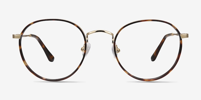 Alchemist Tortoise Acetate Eyeglass Frames from EyeBuyDirect, Front View