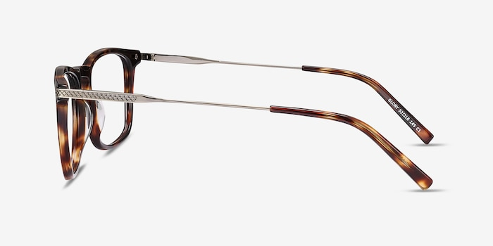 Glory Tortoise Acetate Eyeglass Frames from EyeBuyDirect, Side View