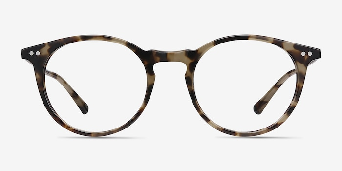 Luminous Tortoise Acetate Eyeglass Frames from EyeBuyDirect, Front View