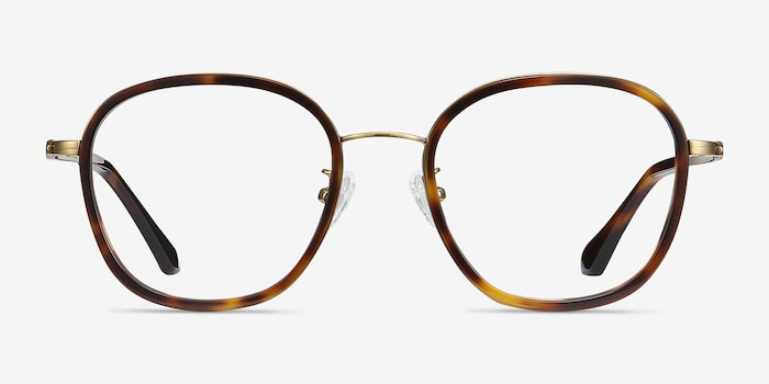 Beyond  Tortoise Acetate Eyeglass Frames from EyeBuyDirect, Front View