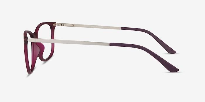 Clarity Purple Plastic-metal Eyeglass Frames from EyeBuyDirect, Side View