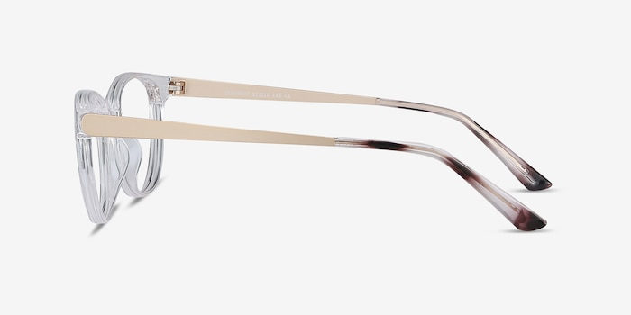 Element Clear Metal Eyeglass Frames from EyeBuyDirect, Side View