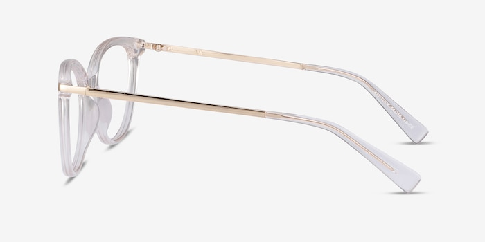 Attitude Clear Acetate Eyeglass Frames from EyeBuyDirect, Side View