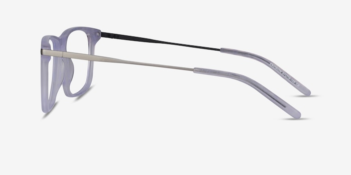 Envision Purple Acetate Eyeglass Frames from EyeBuyDirect, Side View