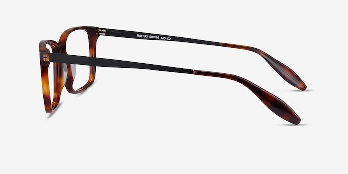 Hayday Tortoise Acetate-metal Eyeglass Frames from EyeBuyDirect, Side View