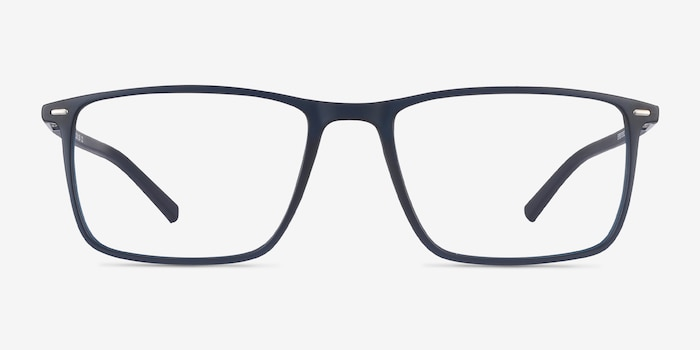 Simon Navy Plastic-metal Eyeglass Frames from EyeBuyDirect, Front View