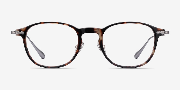 Malva Tortoise Acetate Eyeglass Frames from EyeBuyDirect, Front View