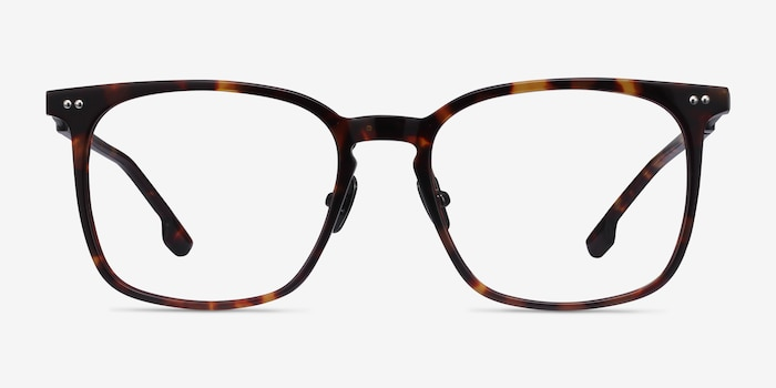 Cohen Tortoise Acetate-metal Eyeglass Frames from EyeBuyDirect, Front View
