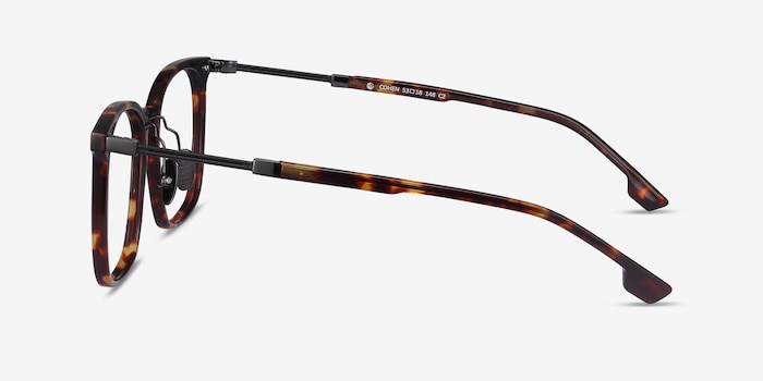 Cohen Tortoise Acetate-metal Eyeglass Frames from EyeBuyDirect, Side View