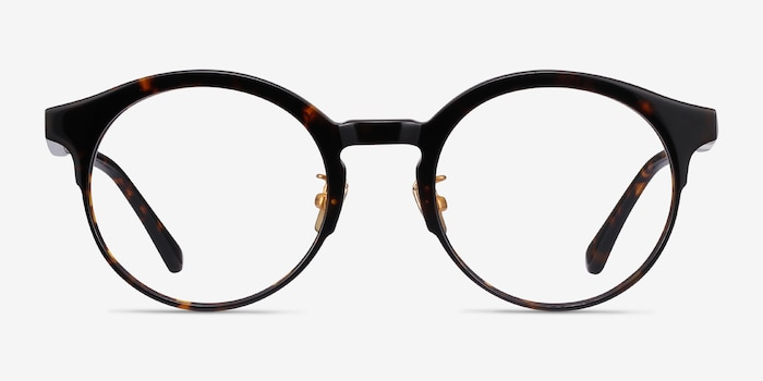 Rochelle Tortoise Acetate Eyeglass Frames from EyeBuyDirect, Front View