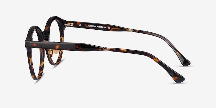 Rochelle Tortoise Acetate Eyeglass Frames from EyeBuyDirect, Side View